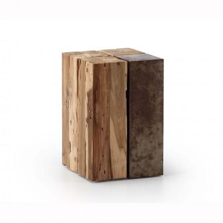 Ognak tavolino legno e ferro