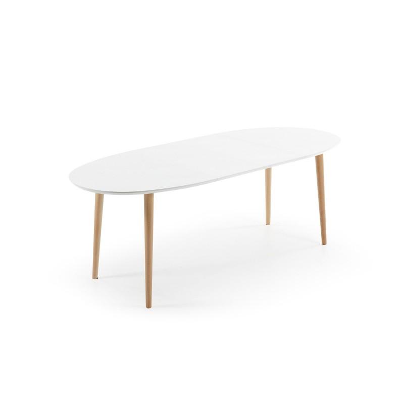 Oakland tavolo ovale allungabile 140 220 righetti mobili - Tavolo ovale allungabile ...