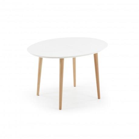 Oakland tavolo ovale allungabile 120/200