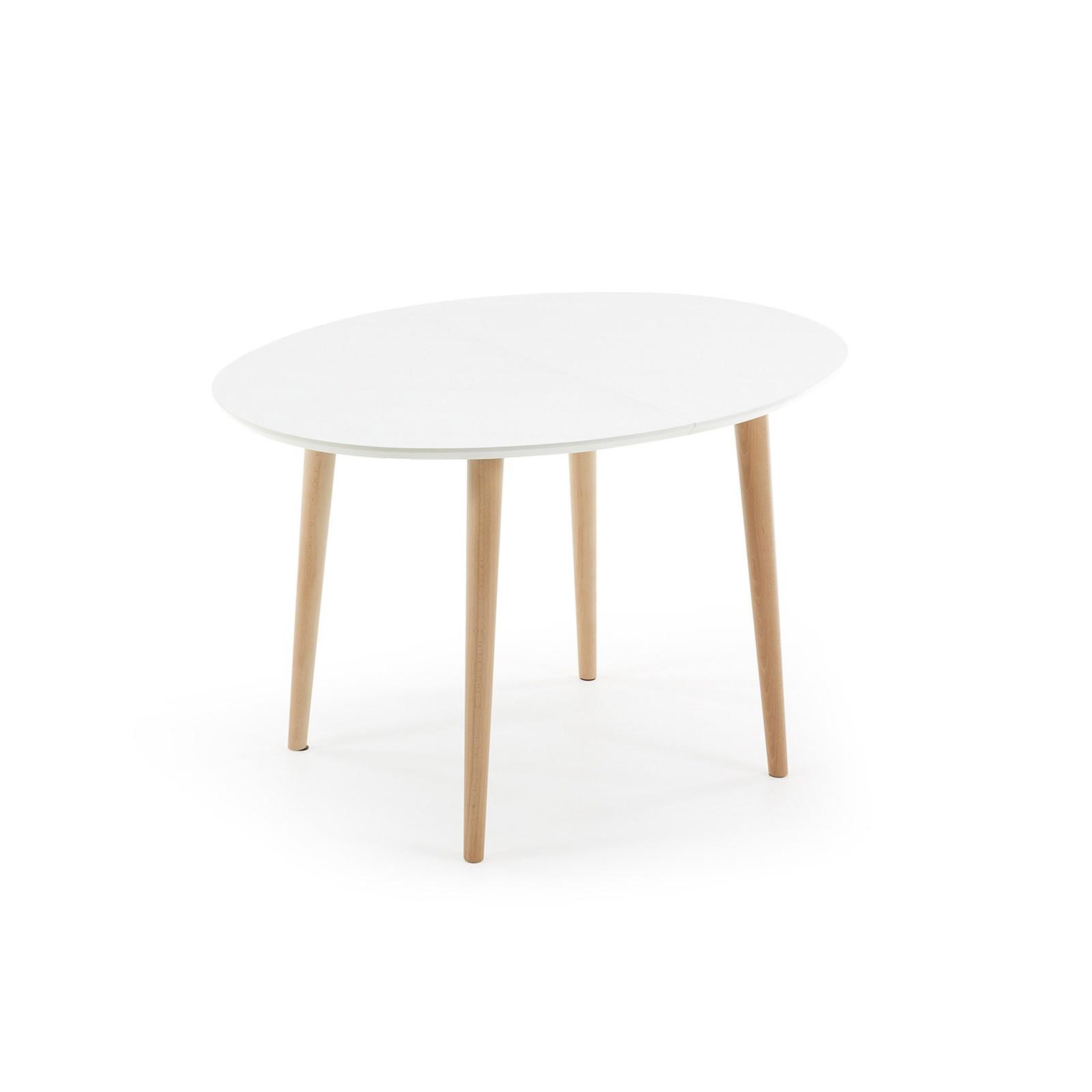 Tavoli Ovali Allungabili In Vetro.Tavolo Ovale Allungabile Vetro Anassimene Tavolo Di Design In Legno