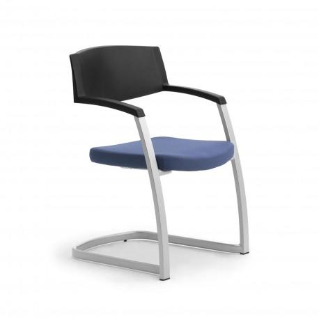 Time sedia ufficio impilabile Leyform