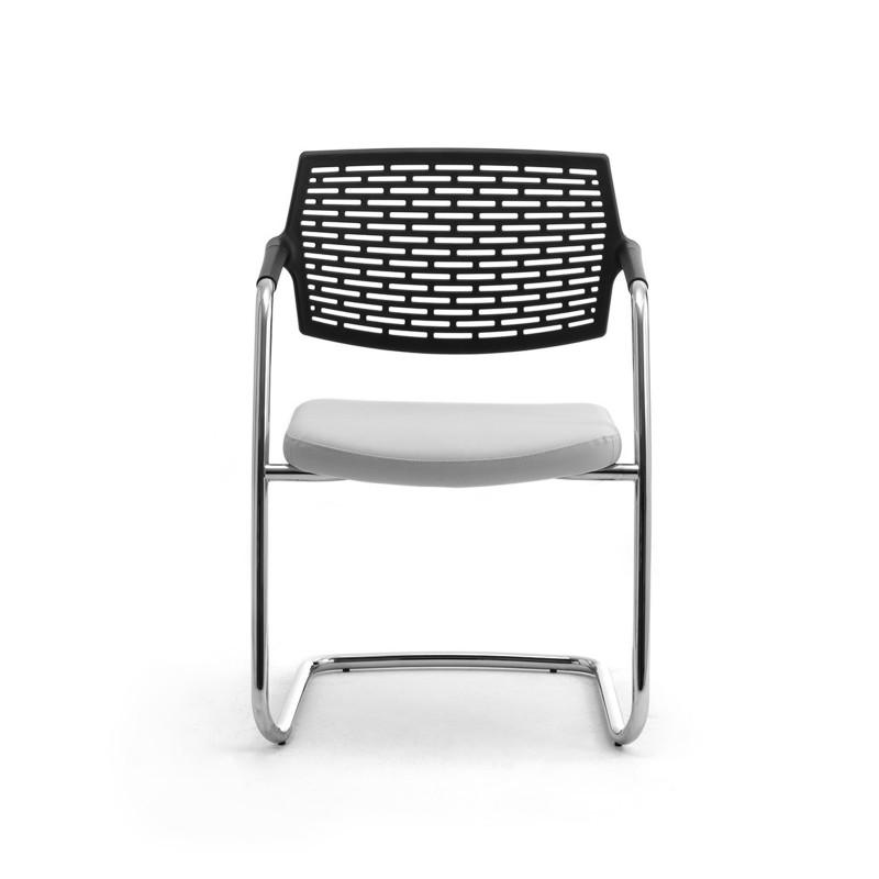 Spot sedia ufficio impilabile leyform righetti mobili for Sedia ufficio black friday