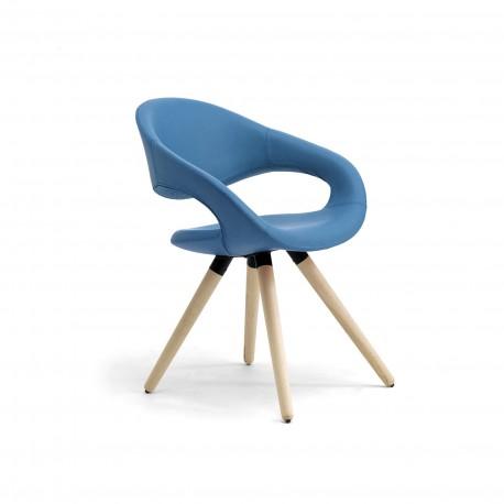 Samba sedia gambe in legno