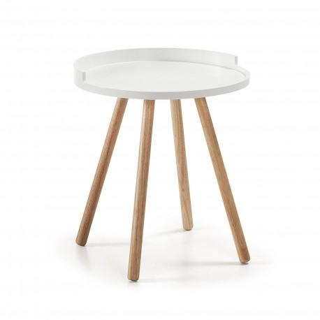 Bruk tavolino piano bianco