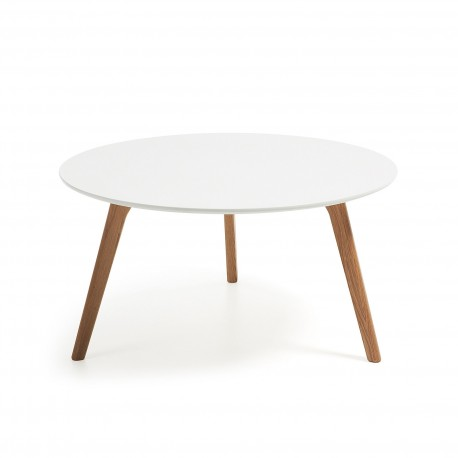 Brick tavolino piano laccato bianco