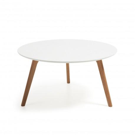 Brick tavolino piano bianco