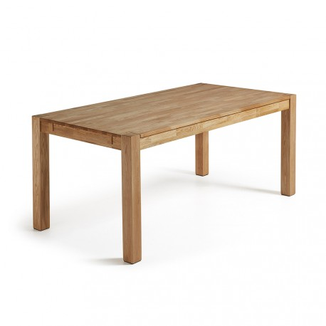 Indra tavolo allungabile in rovere naturale 120x75