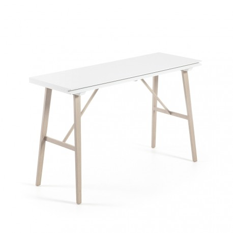Aryon tavolo/consolle allungabile bianca