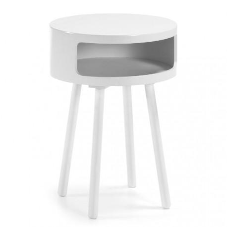 Bruk tavolino contenitore bianco