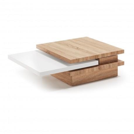 Yuki tavolino da centro legno naturale