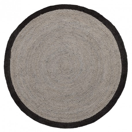 Samy tappeto rotondo grigio