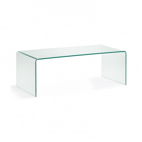 Burano tavolino rettangolare in vetro