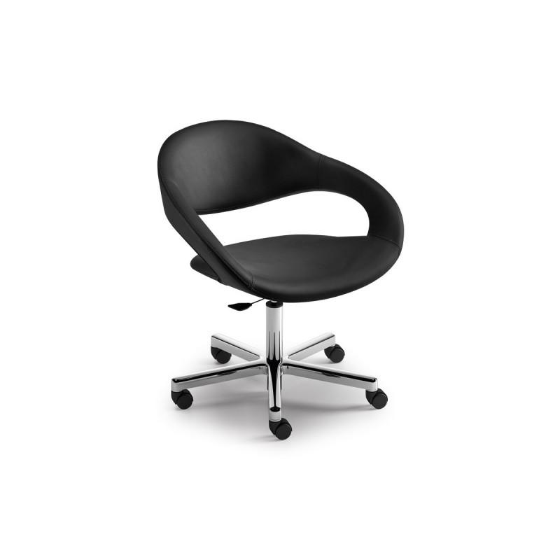 Samba sedia girevole leyform righetti mobili for Fenice design sedie ufficio